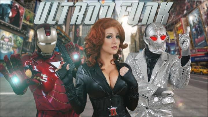 Les Avengers version «Uptown Funk»