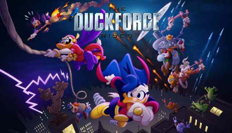 Let's Play sur DuckForce Rises de Disney – iOS / Android