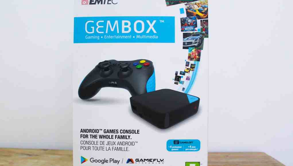Test de la La GEM Box, une console de salon sous Android