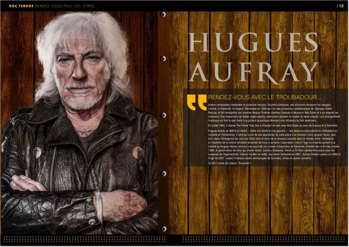 Hugues Aufray - Age Tendre et Tête de Bois 2015