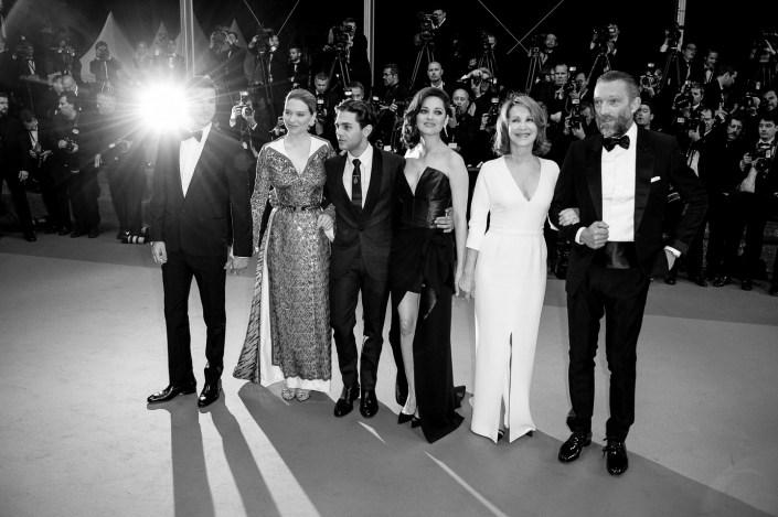 Xavier Dolan, Marion Cotillard, Vincent Cassel - Cannes