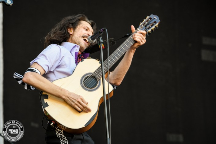 Gogol Bordello plays at Greenfield Festival 2017