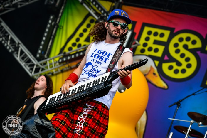 Alestorm plays at the Download Festival Paris - 2018