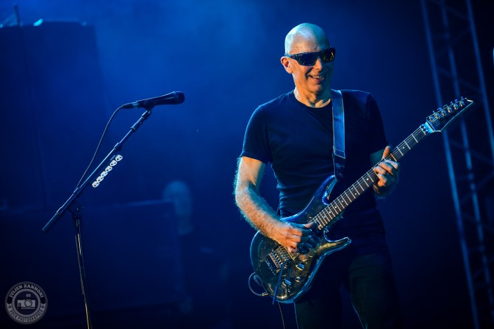 Joe Satriani plays at the Guitare en Scène Festival 2018