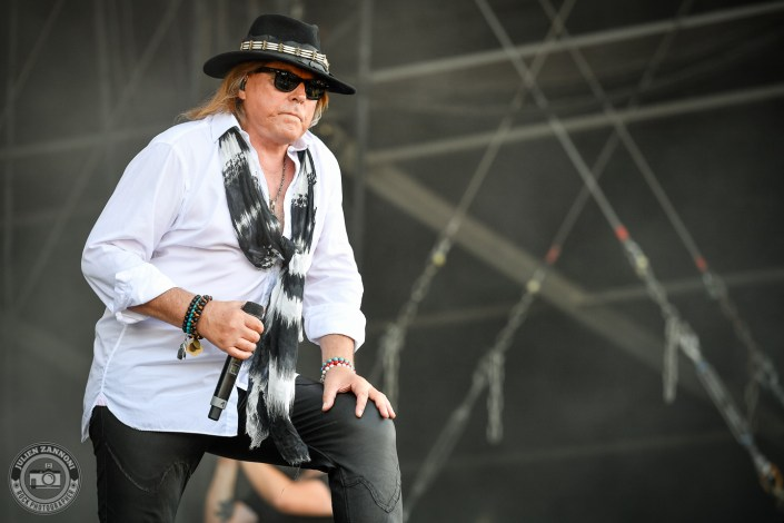 Dokken plays at the Wacken Open Air 2018