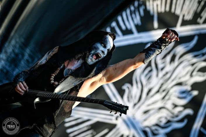 Behemoth is seen on stage during Wacken Open Air 2018 (Germany)