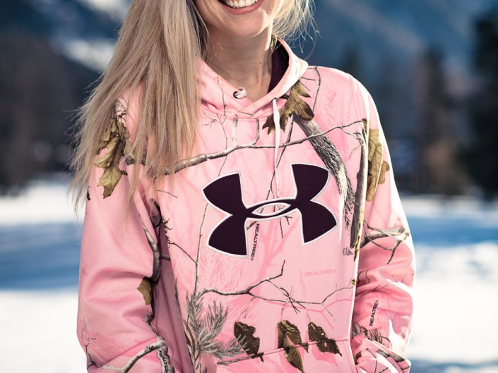 Photoshoot with Marilou Roubaud in Chamonix