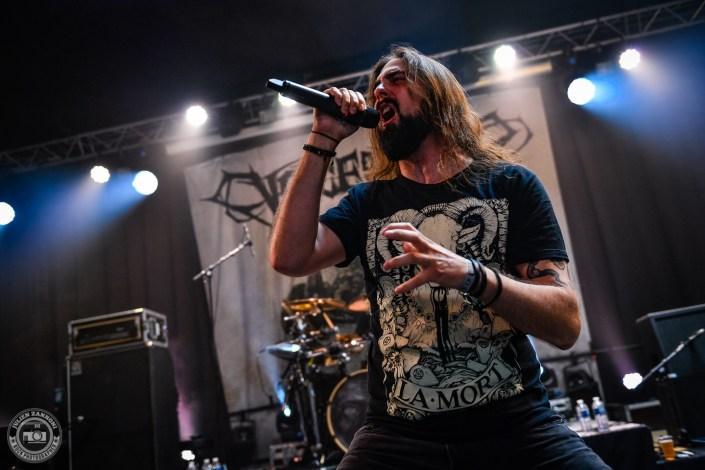 Voice of Ruin sur la scène du Lions Metal Festival 2019 à Montagny