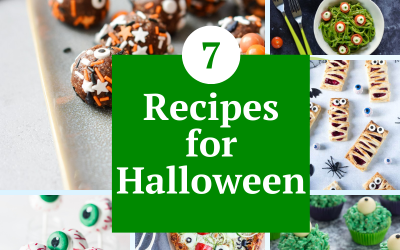 7 Recipes for Halloween  This list of easy, fun and festive recipes for Halloween will make this year's holiday extra special.