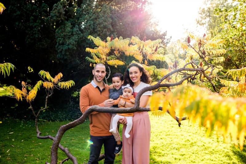 photographe famille Toulouse séance photo automne toulouse jardin des plantes julie riviere photographie