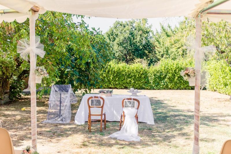 Photographe Mariage Toulouse Giroussens Domaine St Michel Julie Rivière photographie thème champêtre Amélie Eric