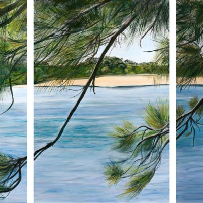 Julie-Schofield_Casuarina-Tranquility-Triptych