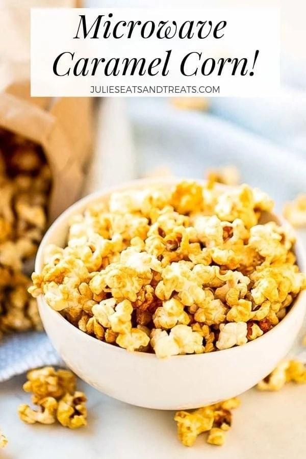 microwave caramel corn julie s eats