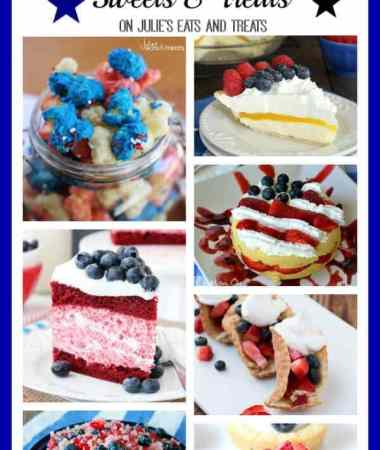 Red, White and Blue Sweets & Treats!
