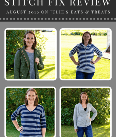 Stitch Fix Review August 2016