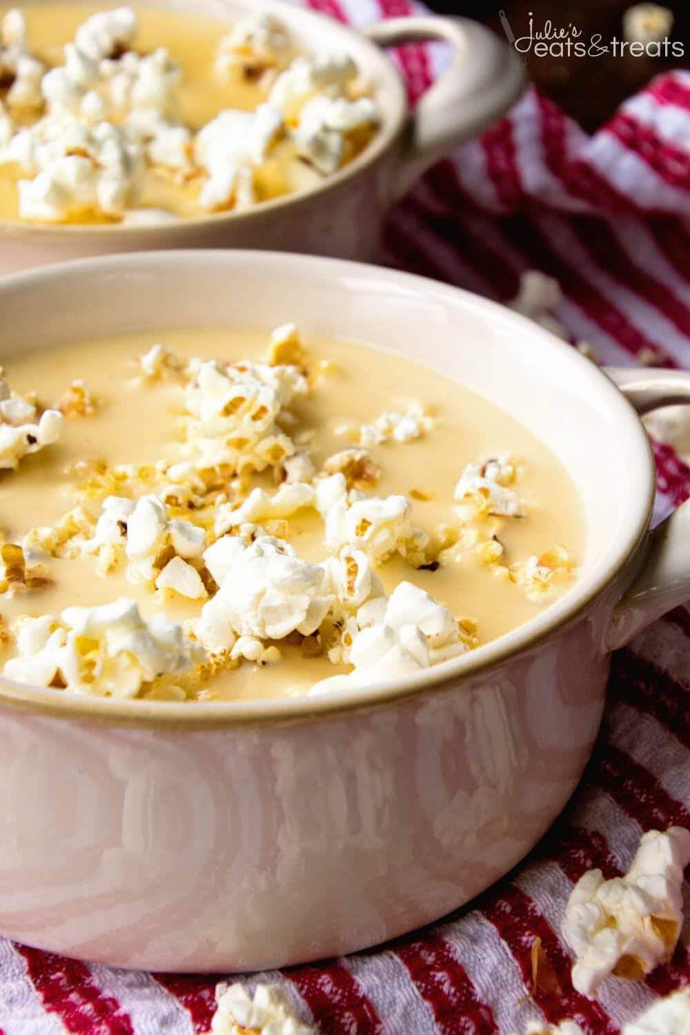Bowl of beer cheese soup recipe