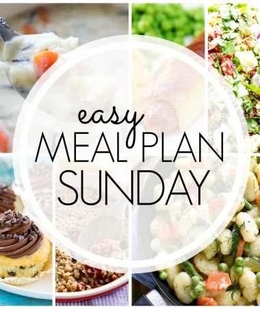 Easy Meal Plan Sunday {Week 93}