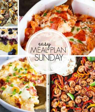 Easy Meal Plan Sunday {Week 100}