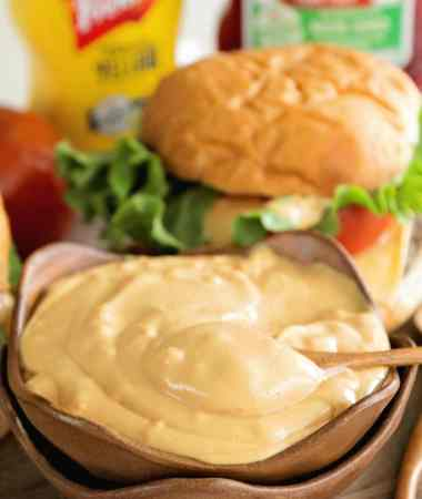The Best Burger Sauce EVER!