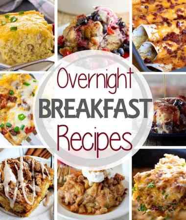 Holiday Overnight Breakfast Recipes Round-Up