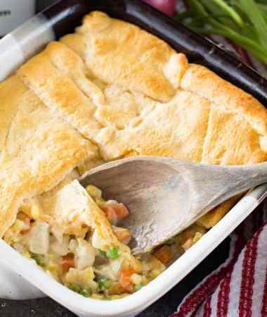 Quick Casserole Recipe Chicken Pot Pie Recipe
