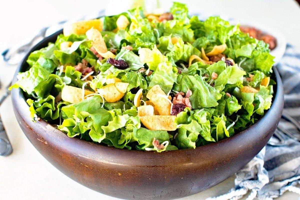 Lettuce Corn Chip Salad
