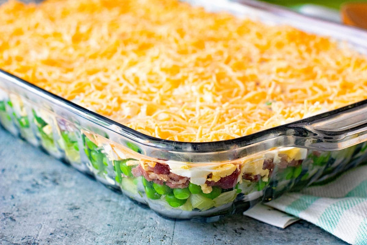 How to Make Seven Layer Salad