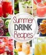 Summer Drink Square Pinterest Image