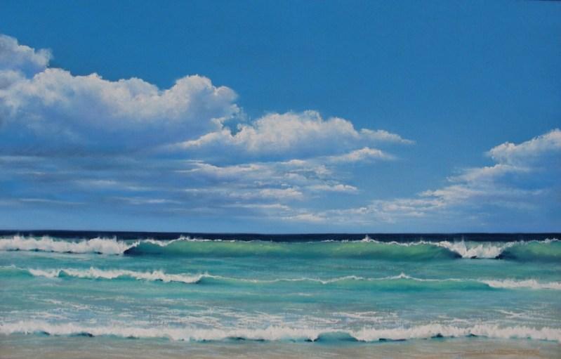 Coastal Motion - 73 x 98