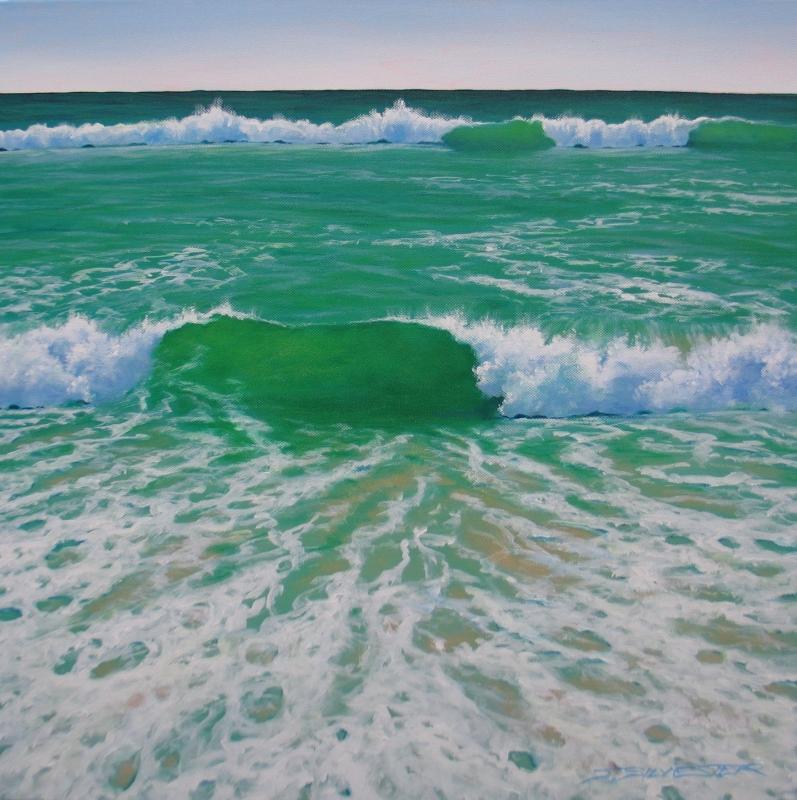 Ocean Persuasion - 51 x 51 - Unframed Acrylic