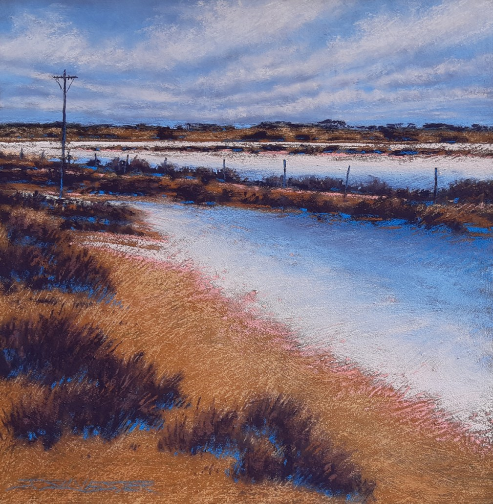 Winter in the Wheatbelt 62cm x 62cm