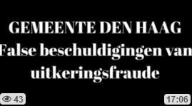 false beschuldiging van uitkeringsfraude