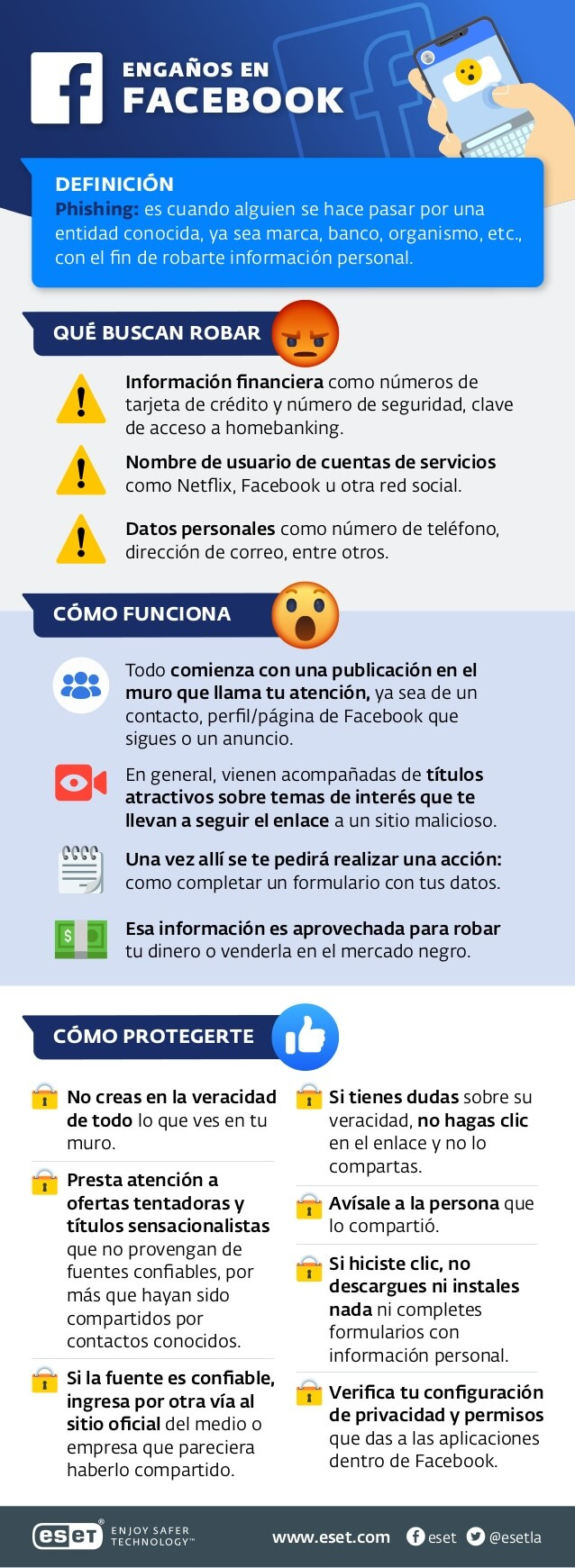 Phishing a través de Facebook