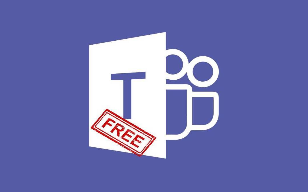 Microsoft Teams Gratis para trabajar o estudiar desde casa