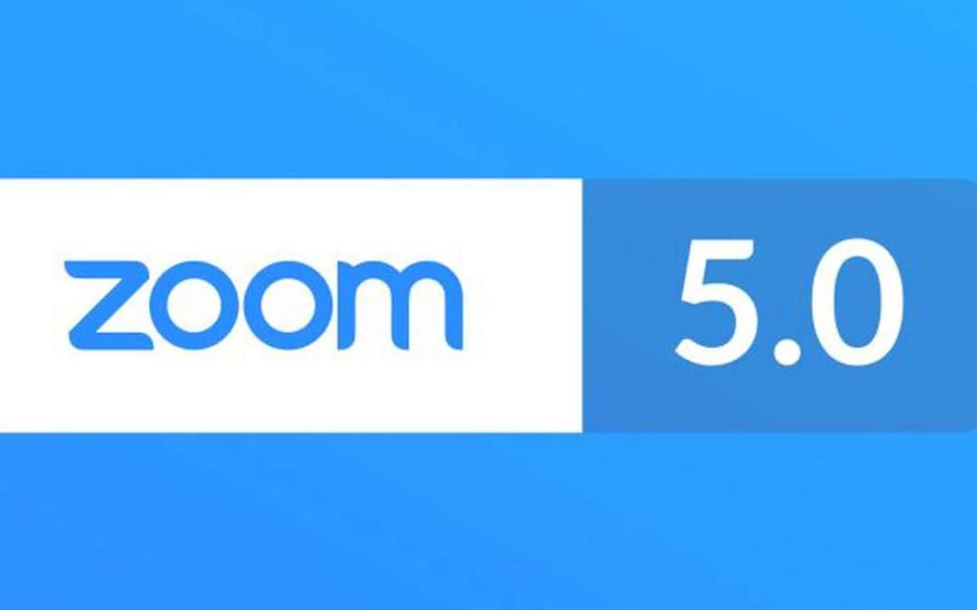 Actualizar Zoom 5.0 antes de que deje de funcionar
