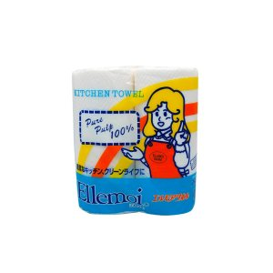 Ellemoi Kitchen Towel Roll - 1x2s