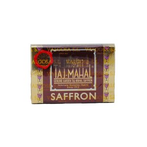 Taj Mahal saffron