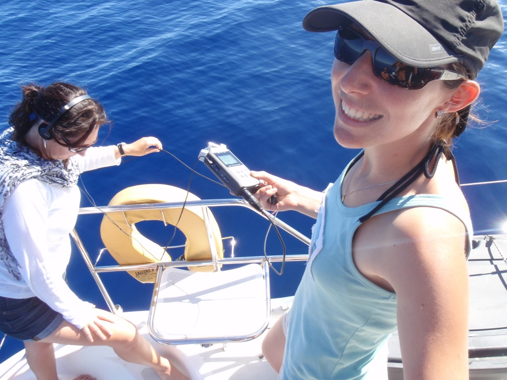 Niue Whale Research Team 2