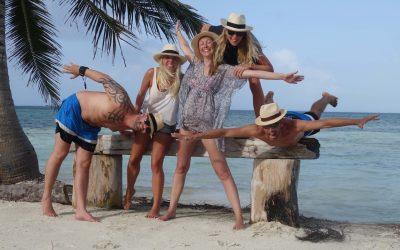 Visitors from Norway in San Blas
