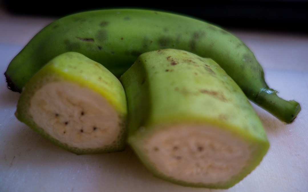 Green bananas are the new potato