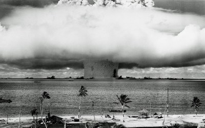 Testing nuclear weapons in paradise