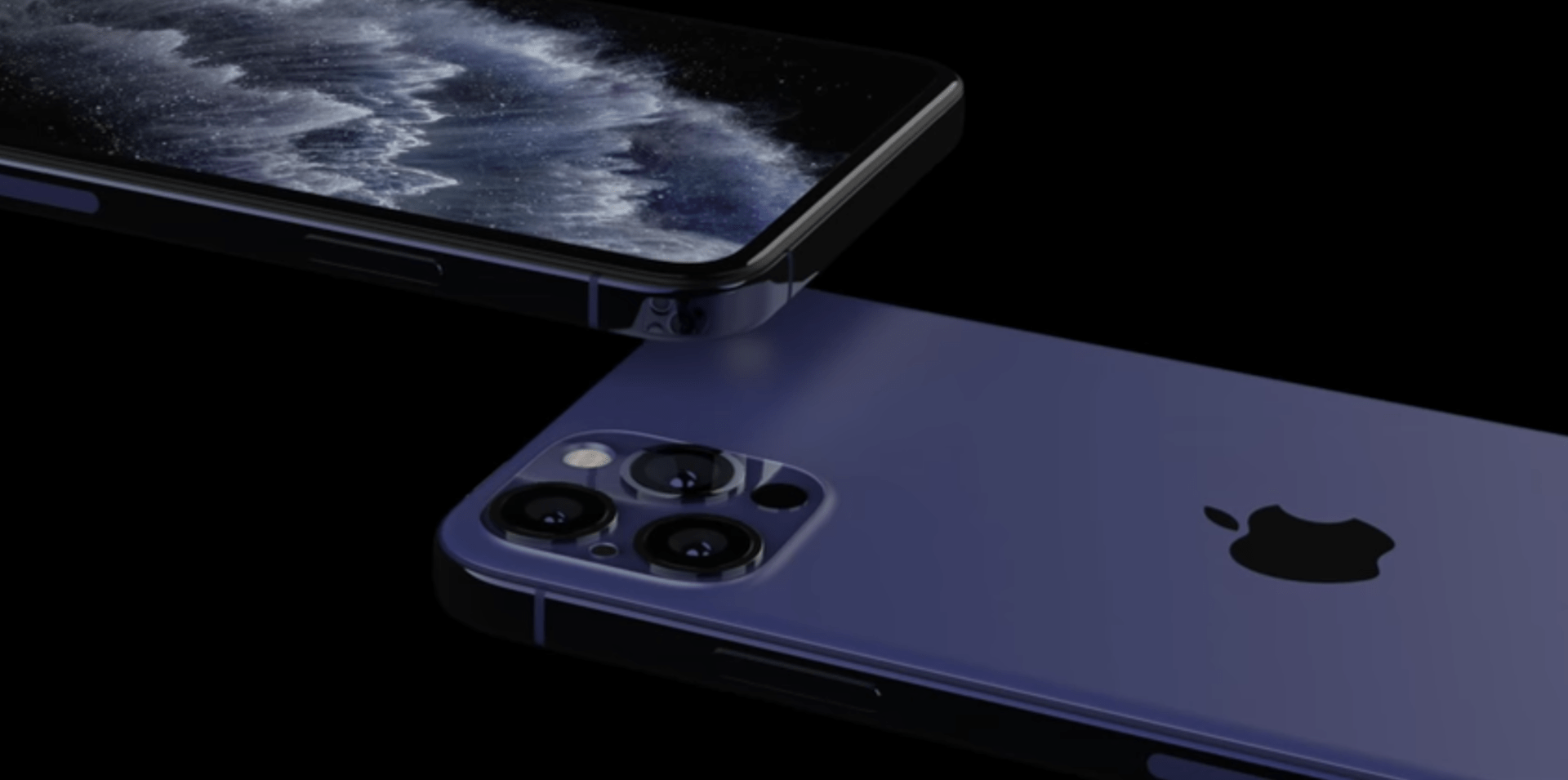 Nuovi rendering per Apple iPhone 12 e la fantastica colorazione Navy blue