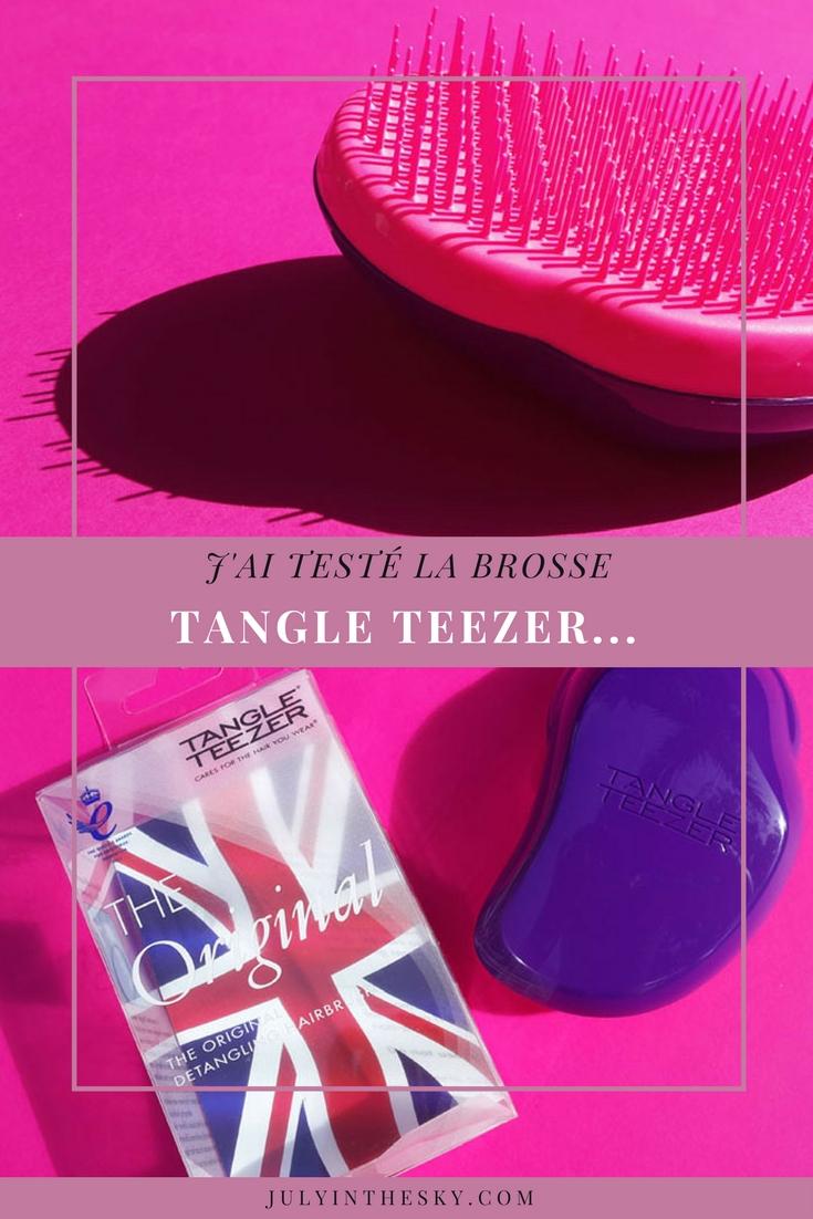 blog beauté test brosse tangle teezer avis