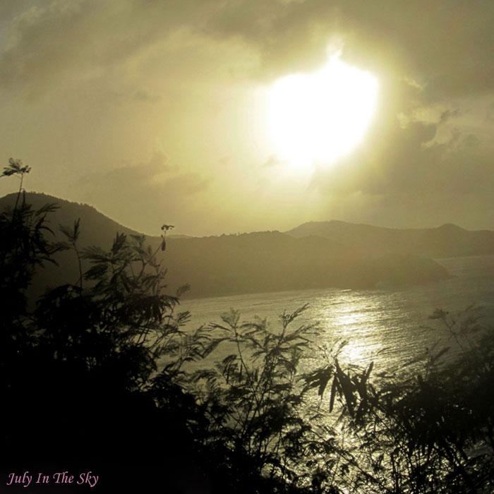 blog beauté photographie art coucher soleil antilles tropiques sunset