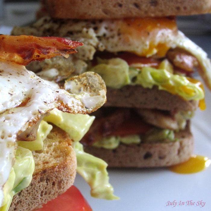 blog beauté food porn photographie club sandwich poulet