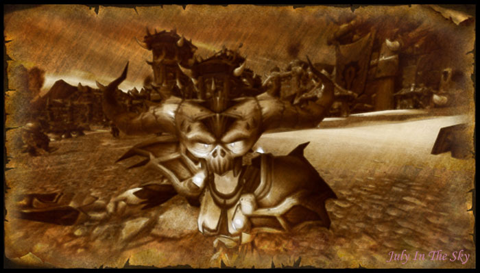 blog beauté geek morte vivante démoniste horde wow world of warcraft