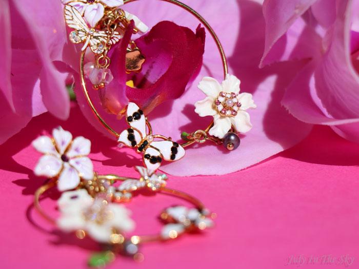 blog beauté bijoux boucles d'oreilles les néréides