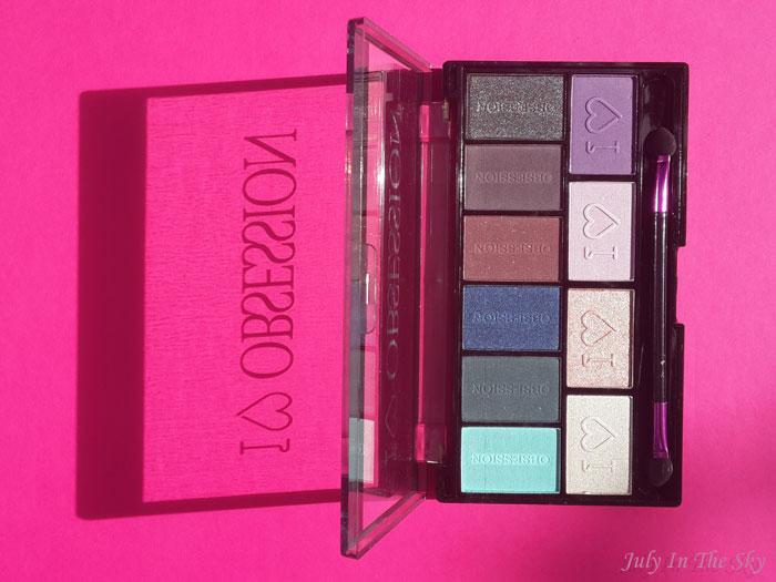 blog beauté haul makeup revolution palette obsession avis