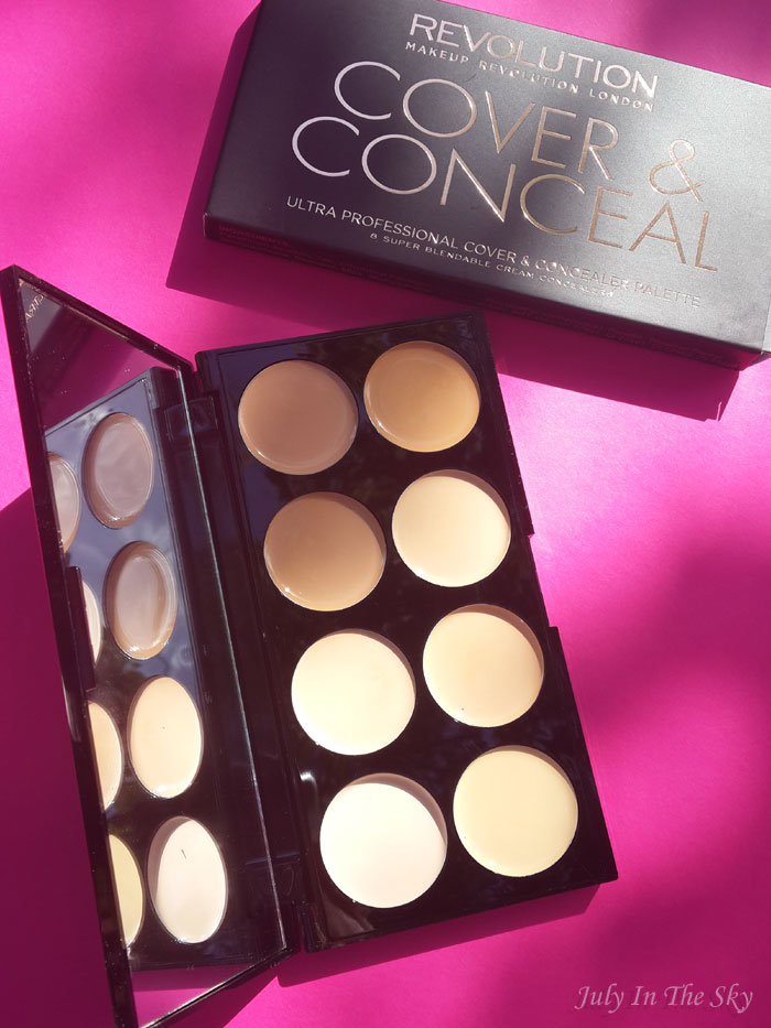 blog beauté haul makeup revolution palette ultra cover and conceal avis