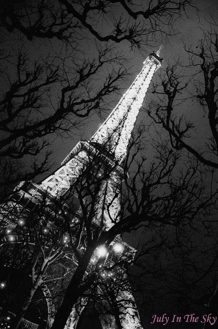 blog beauté photographie art passion paris by night tour eiffel nuit